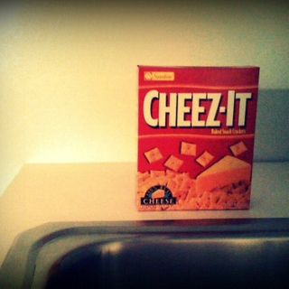 Cheez-Its, nigga.