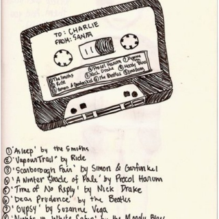 charlie's first mix tape (perks of being a wallflower)