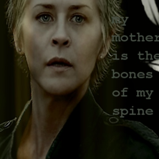 my mother is the bones of my spine