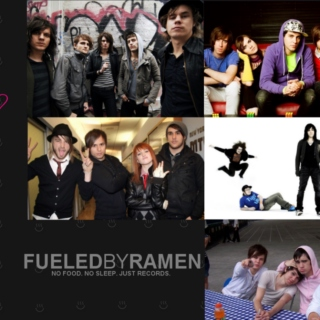 fueled by ramen: now and then
