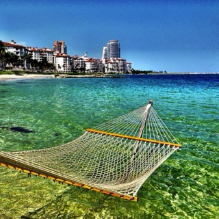 hammocks by the sea