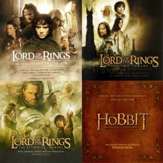 LOTR/Hobbit Lyrical Songs