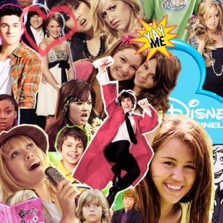 and you're watching disney channel