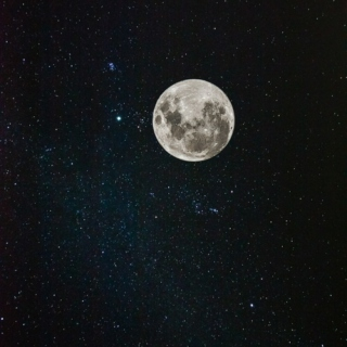 If you must mourn, my love, mourn with the moon and the stars up above