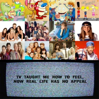 TV Taught Me How To Feel, Now Real Life Has No Appeal