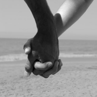 When the world comes to an end, i know youll be there to hold my hand