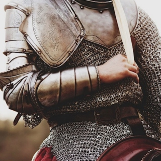 "I throw my warlike shield. Lay on, Macduff, And damned be him that first cries, ""Hold, enough!"""
