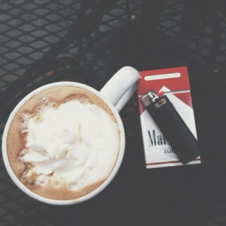 early morning cigarettes