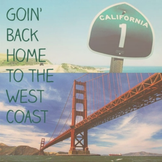 going back home to the west coast