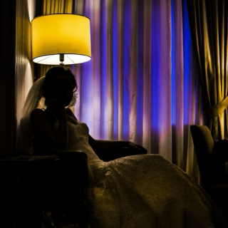 Noir Brides Leave Their Excitements Behind In Shadows Before The Wedding