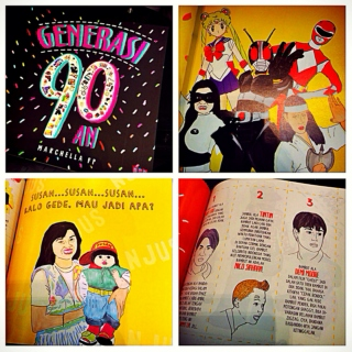 #90an Indonesian Childhood