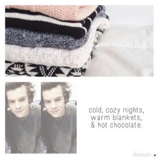 winter days with harry ⛄☕️