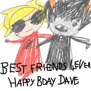 BEST FRIENDS 4EVER. HAPPY BDAY DAVE.
