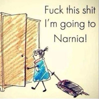 Fuck this Shit, I'm going to Narnia!