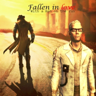 Fallen in love (with a man on the run)