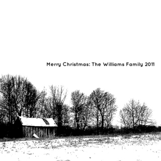Merry Christmas: The Williams Family 2011