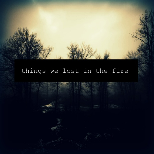 Things We Lost in the Fire (album) - Wikipedia