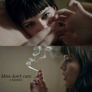 Miss don't care ☠