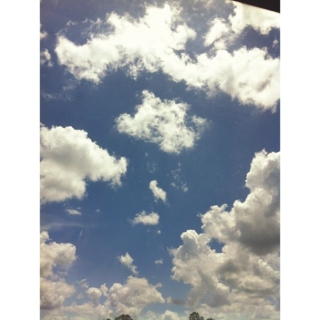 i look for you in the clouds