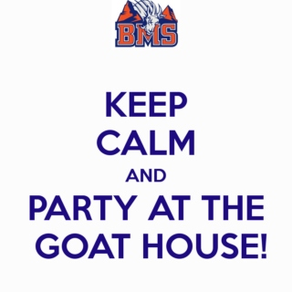 party at the goat house!