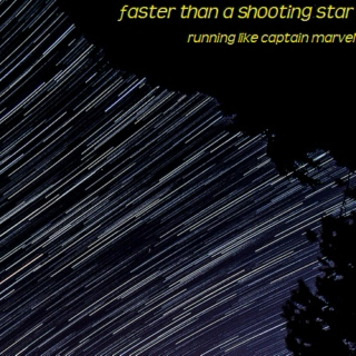faster than a shooting star