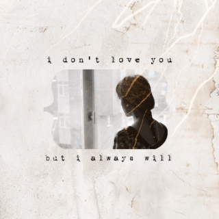 I Don't Love You But I Always Will