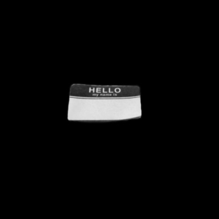 hello, my name is..
