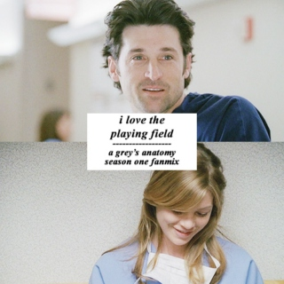 i love the playing field.