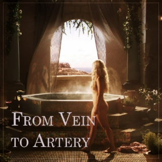 from vein to artery