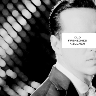 old fashioned villain