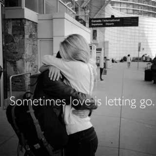 Letting Go, I am not