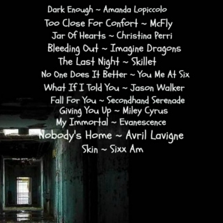 Songs you can have a good cry too.