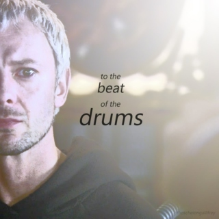 ..to the beat of the drums..