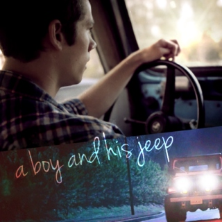 just a boy and his jeep