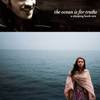 the ocean is for truths;