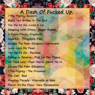 A Dash of Fucked Up. (Pt. 1 of the Fucked® Trilogy)