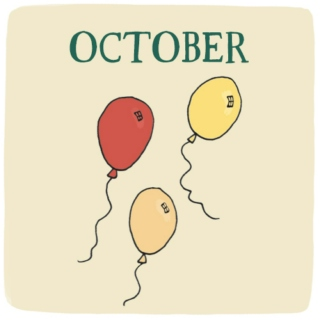 October: Letting Go