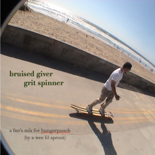 bruised giver, grit spinner