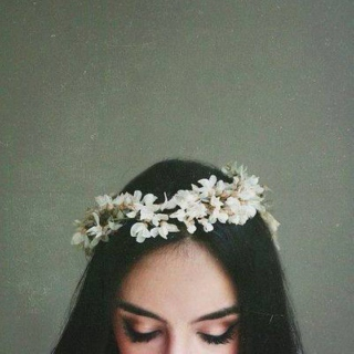 with grace in your heart, and flowers in your hair