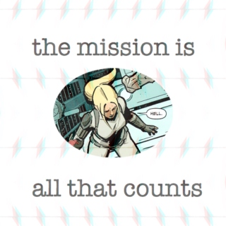 the mission is all that counts