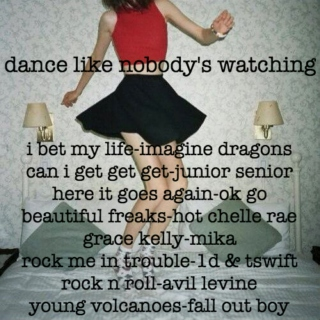 lets dance like nobody is watching