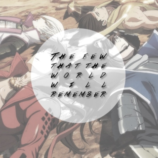 the few that the world will remember.