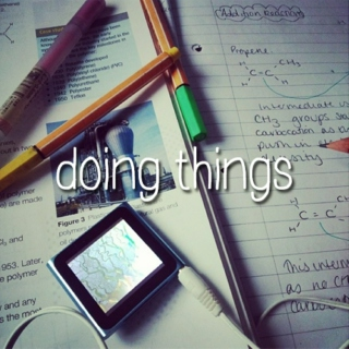 Doing Things