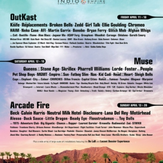 Coachella 2014 the replacements TY SEGALL BAND the afghan whigs NEUTRAL MILK HOTEL