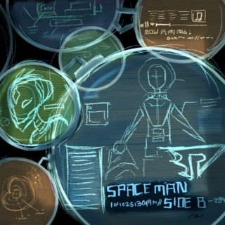 Spaceman: a space au mix (Side B)