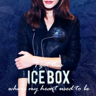 I got this ICE BOX where my heart used to be