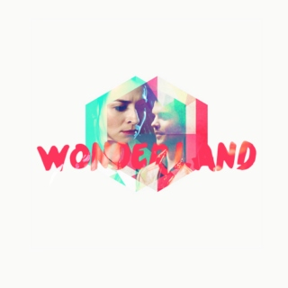 wonderland; alice/hatter