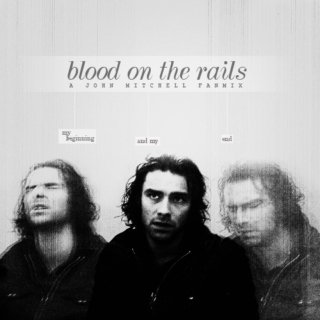 Blood on the rails.