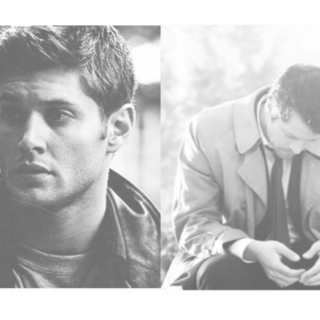 """one may tolerate a world of demons for the sake of an angel."" {destiel}"