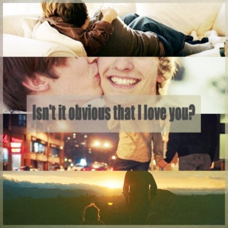 Isn't it obvious that I love you?